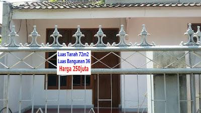 Rumah Dijual Murah Villa Nusa Indah Jati Asih Bekasi 250juta