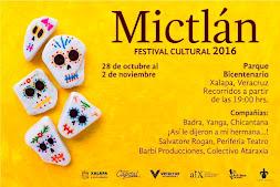 Del 28 de octubre al 2 de noviembre, Festival Cultural Mictlán 2016 en Xalapa