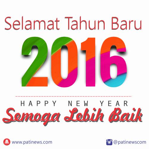Kumpulan DP BBM dan kata mutiara Selamat Tahun Baru 2016