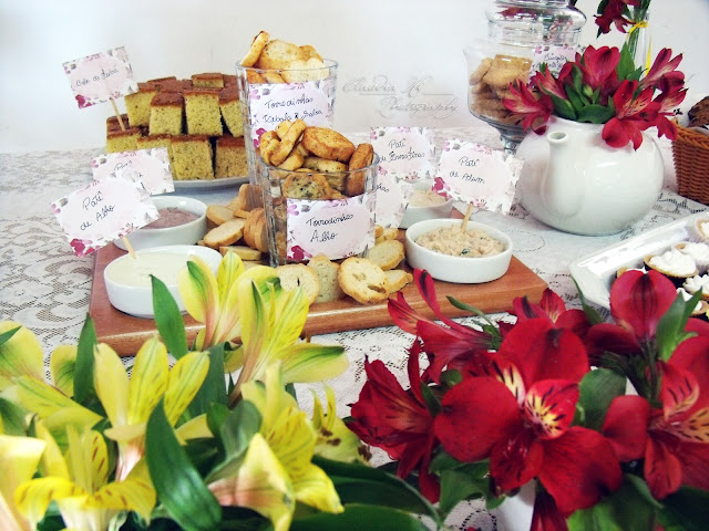 Mesa de chá de cozinha