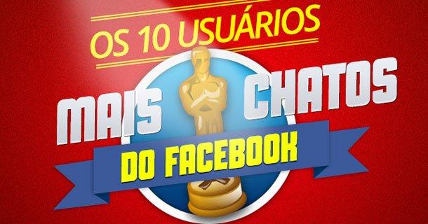 10 usuários mais chatos do Facebook