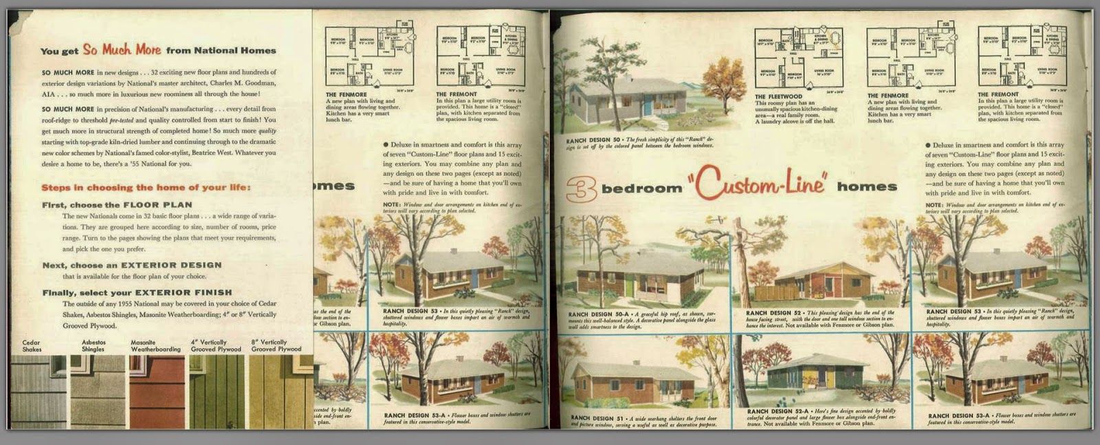 Modular Home Builder Prefab Homebuilding 60 Years Ago