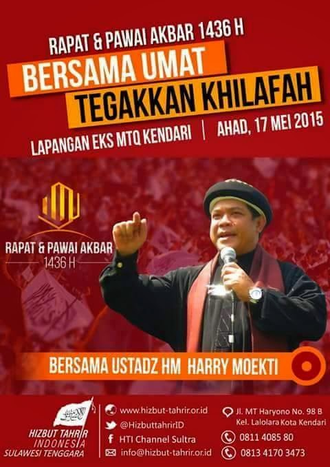 RPA KENDARI | 0811 408580 | RAPAT DAN PAWAI AKBAR | 17 MEI 2015| LAPANGAN EKS MTQ KENDARI | HTI | SULTRA | HIZBUT TAHRIR INDONESIA