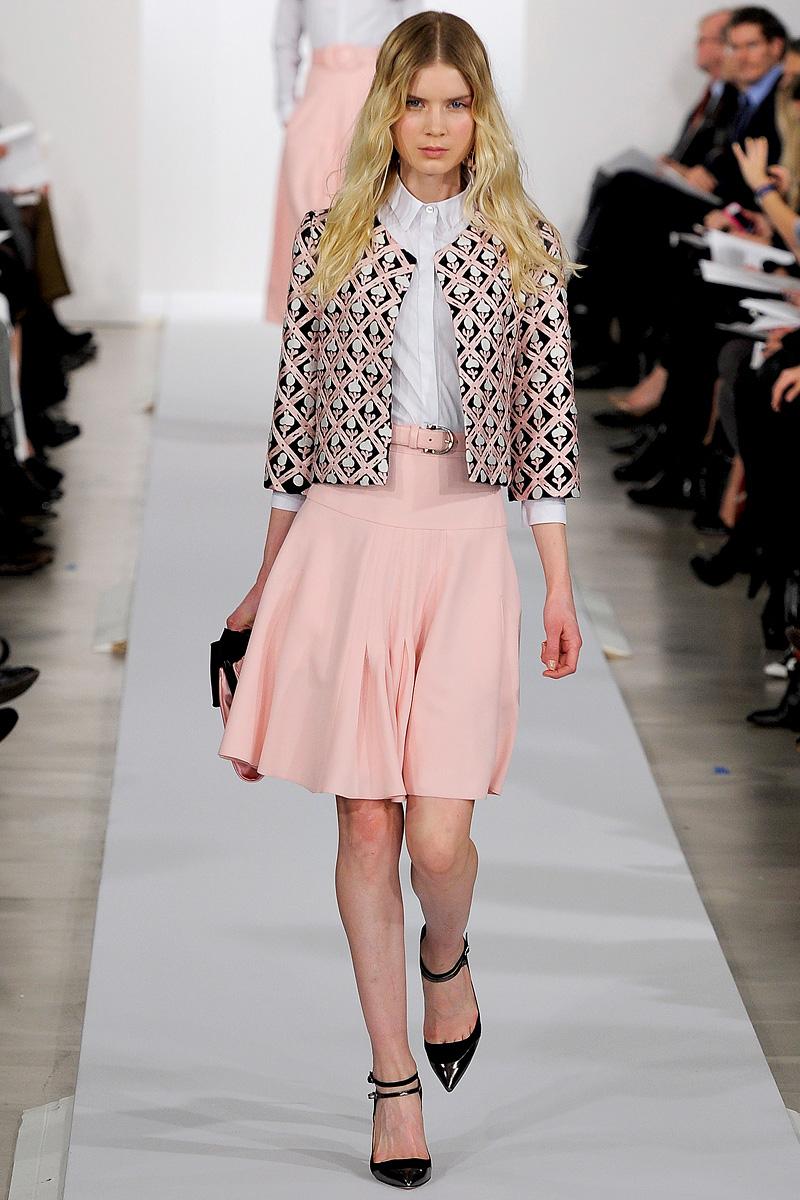 Vestidos preotoño 2013 Oscar de la Renta | Moda