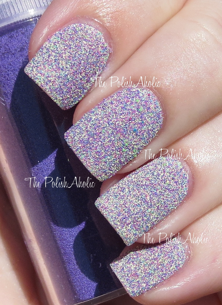 The PolishAholic: NOTD: Fun with Embossing Powder