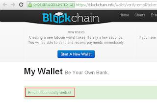 verifikasi wallet sukses
