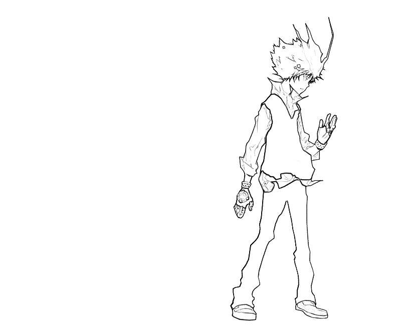 printable-tsunayoshi-sawada-character-coloring-pages