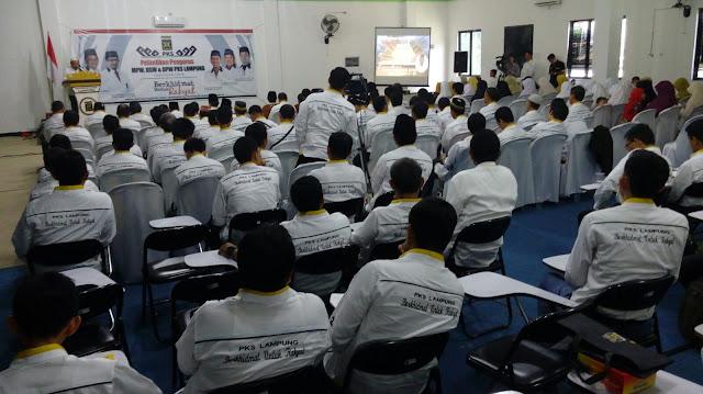 Pelantikan DPW PKS Lampung