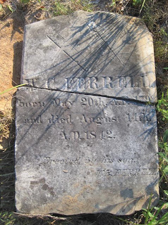 Grave of W. C. Ferrell