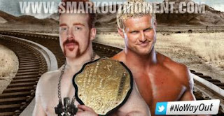 Dolph Ziggler vs Sheamus No Way Out 2012 World Heavyweight Title Match