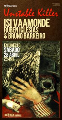 28 abr: ISI VAAMONDE + Rubén Iglesias & Bruno Barreiro en directo