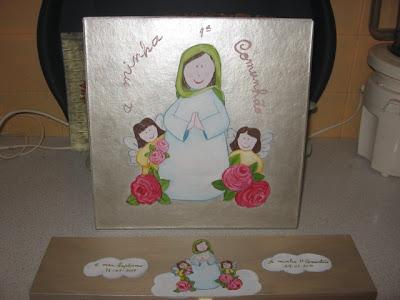 caixa para vela de baptizado