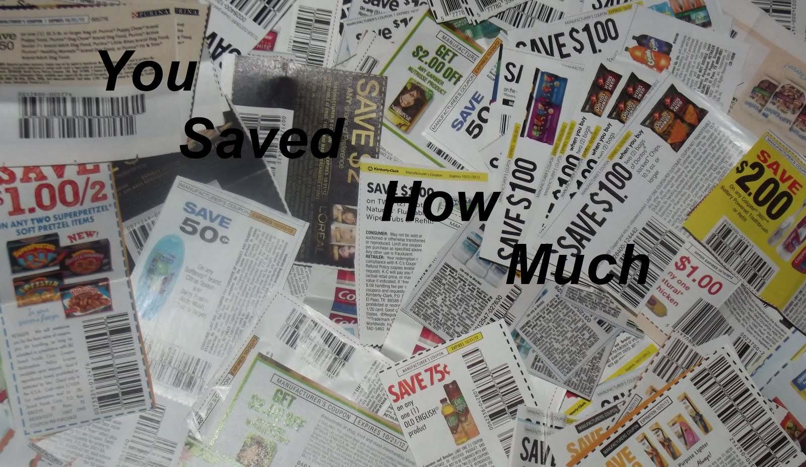You Saved How Much