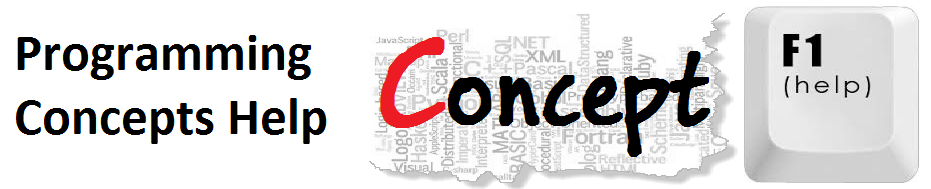 Programming Concepts Help