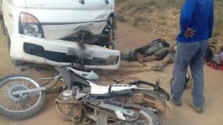 PA: Dois homens morreram após colidir moto de frente com veículo