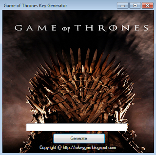 Game of Thrones Key Generator