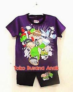 Toko Busana anak, Baju kartun ben 10