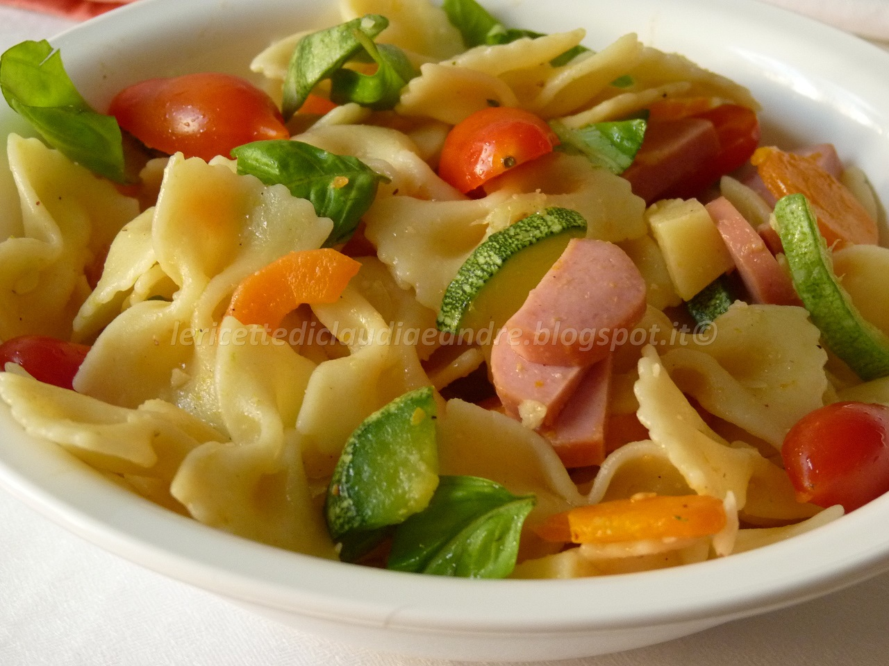 Ricetta pasta fredda ai wurstel