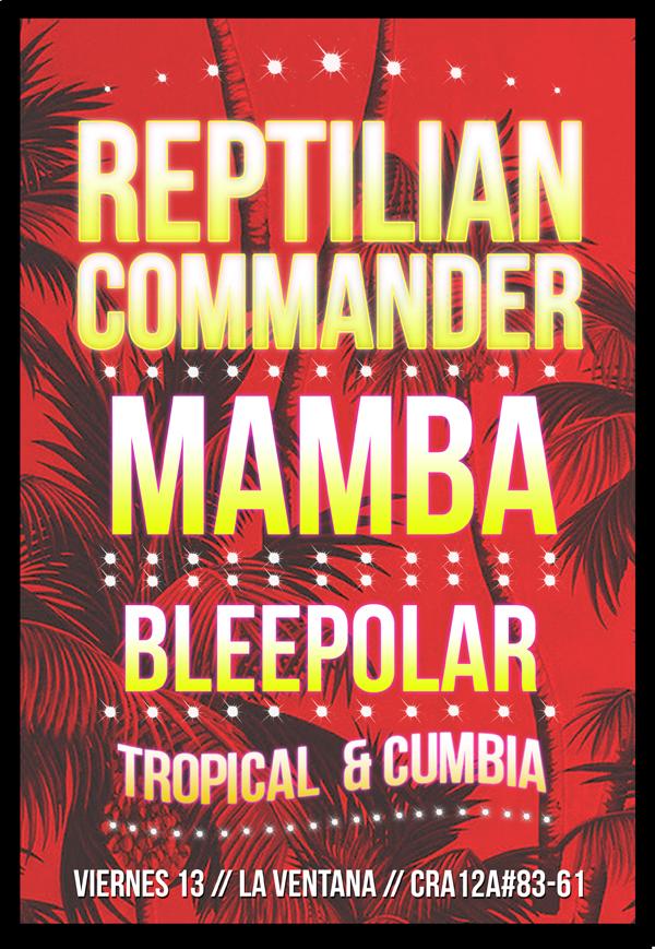 Evento-Reptilian-Commander-Mamba-Argentina- la-Verntana