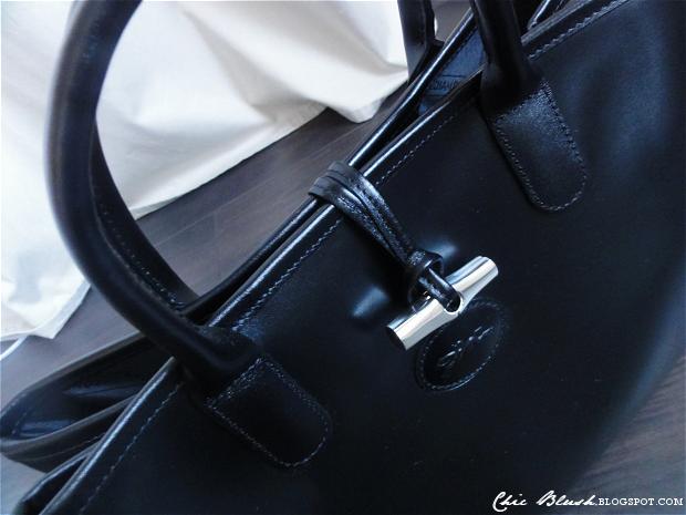 Longchamp Roseau Laukku Hinta : Chic blush black longchamp roseau