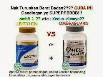 Omega Guard vs Lecithin. Yang Mana Super Duper Berkesan Untuk Kurus???