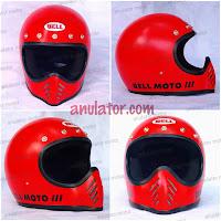 Helm Cakil Moto 3 Replika Merah