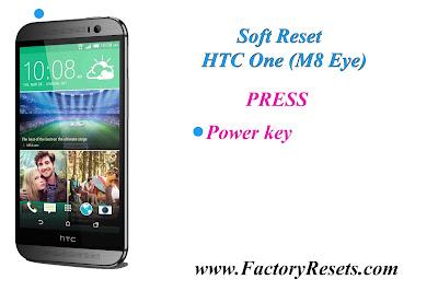 Soft Reset HTC One (M8 Eye)