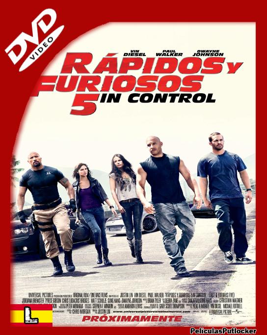 Rapidos y Furiosos 5 [DVDRip][Latino][SD-MG-1F]