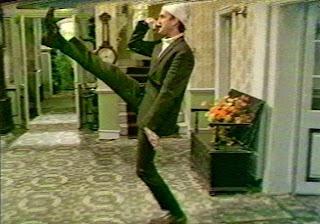 Basil Fawlty as Hitler