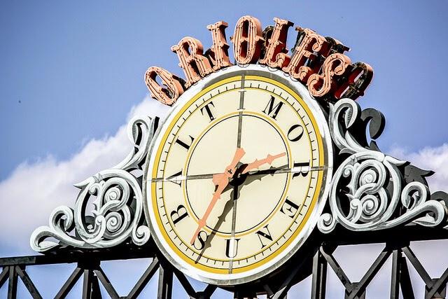 Oriole Park at Camden Yards Clock - Keith Allison