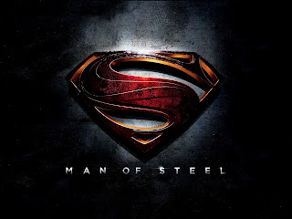 Superman Man of Steel 3D Logo HD Wallpaper