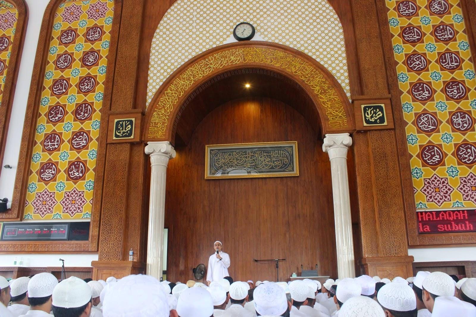 Sharing di Masjid Az-Zikra Arifin Ilham