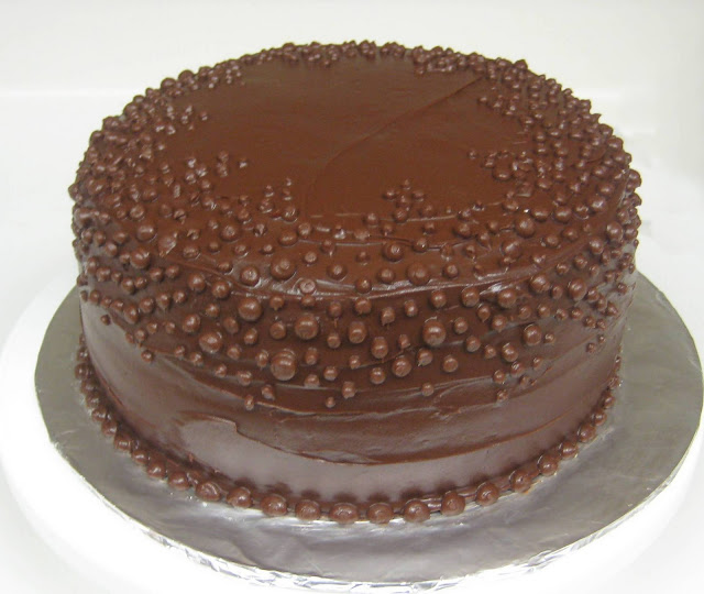 Chocolate Dots Cake 1