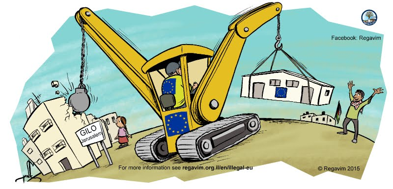 BRITISH TAXPAYERS OUTRAGED at EU spending their money building ILLEGAL ARAB SETTLEMENTS in Israel