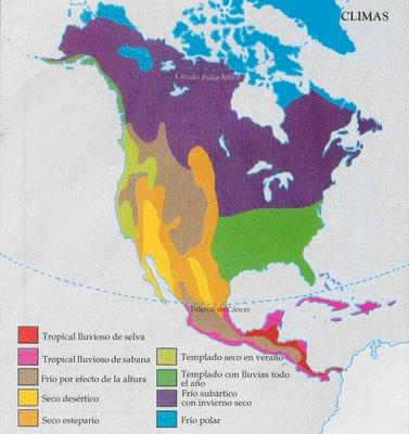 Mapa De America Anglosajona