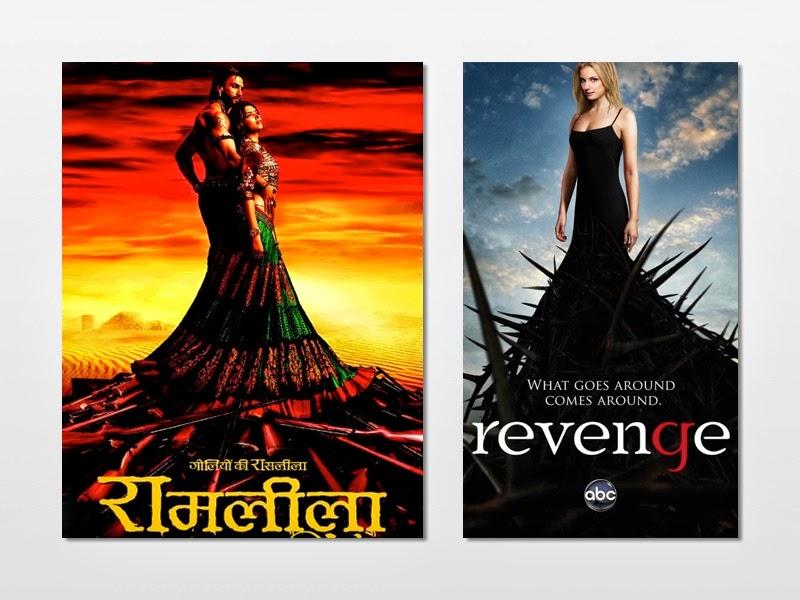 Ram Leela Poster Copied The leading couple Ranveer