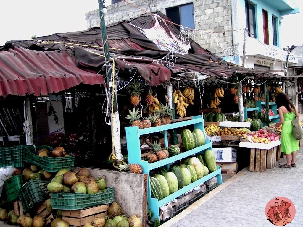 Mercado en Tulum