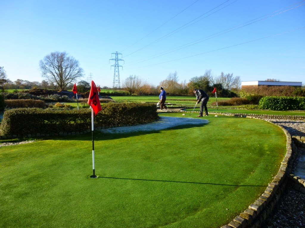 Cambridgeshire & Essex Mini Golf Club Invitational Tournament at the Dunton Hills Family Golf Centre in West Horndon, near Brentwood, Essex