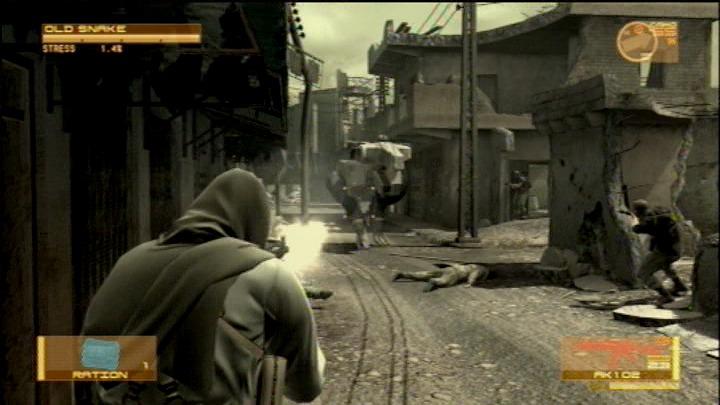 скачать игру Metal Gear Solid 4 через торрент на Pc на русском - фото 8