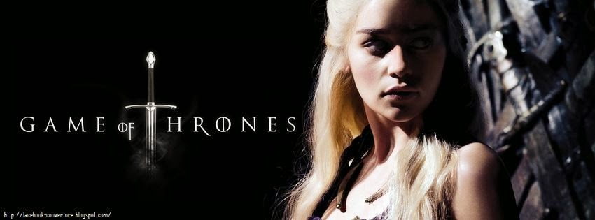 Couverture facebook personnalisée game of thrones
