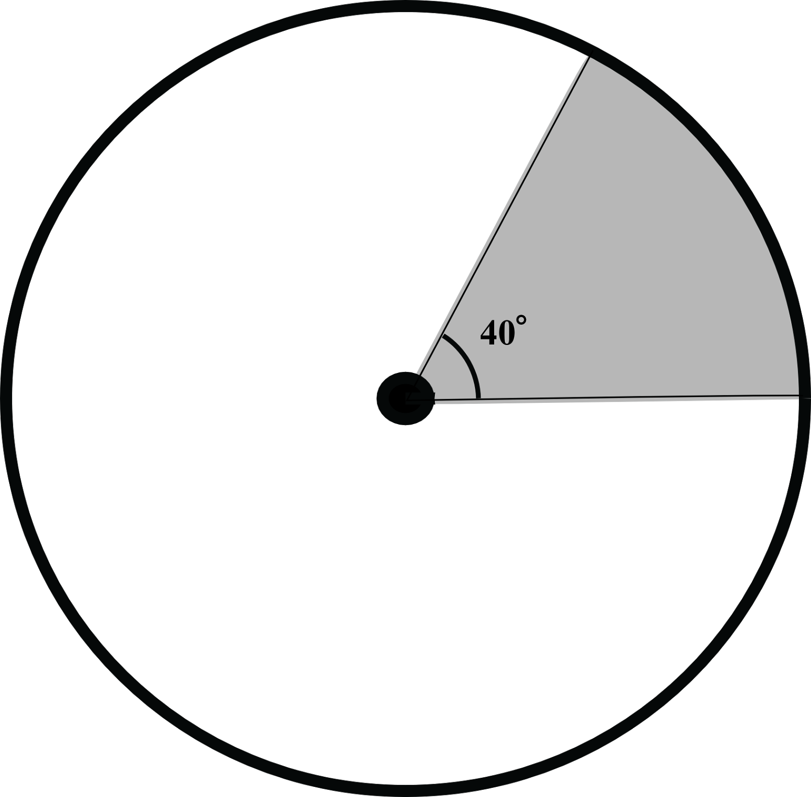 The Circle Pictured Here Has Radius 7 Find The Shaded Area Calculate The  Volume Of A