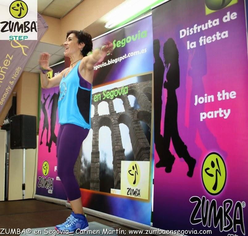 CLASES ZUMBA® STEP en Segovia con Carmen Martín