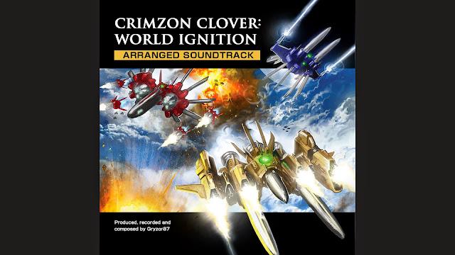 La última actualización de Crimzon Clover Ignition incluye la nueva BSO de Gryzor87 ¡No te la pierdas!