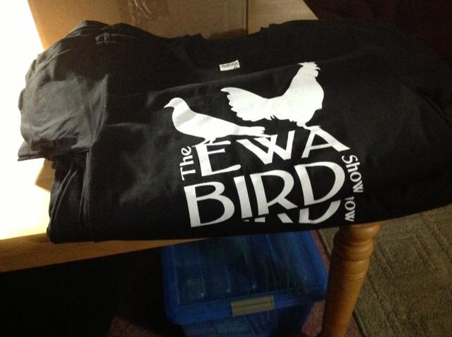 Ewa bird show shirts for Waimanalo feed supply