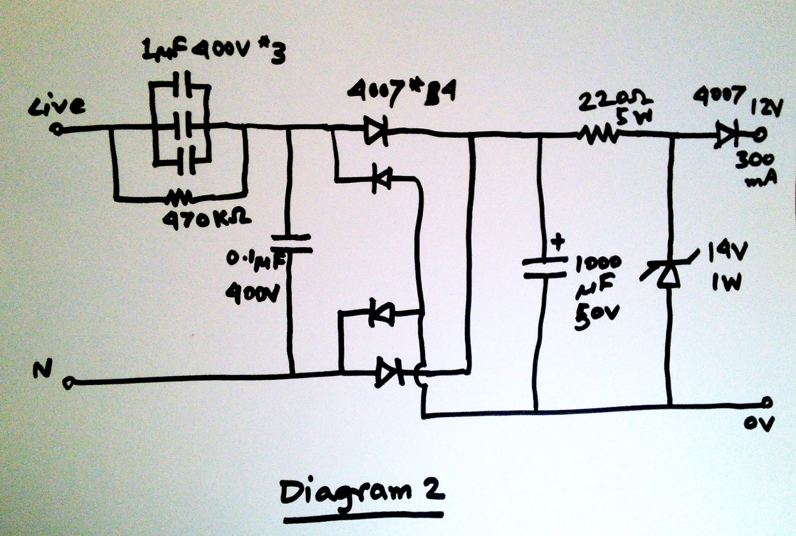 Scavengers Blog Transformerless Power Supply Unit Circuit Homemade Projects Now Lets Modify This Diagram Slightly