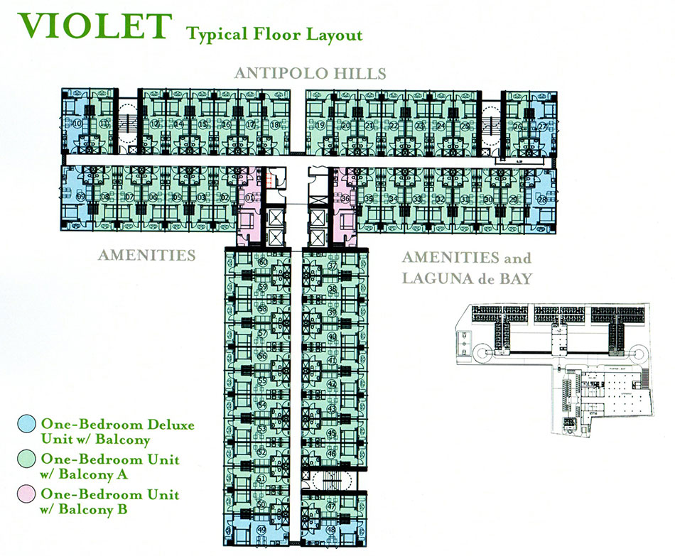 Floor Plans Unit Layout Grace Residences By Smdc