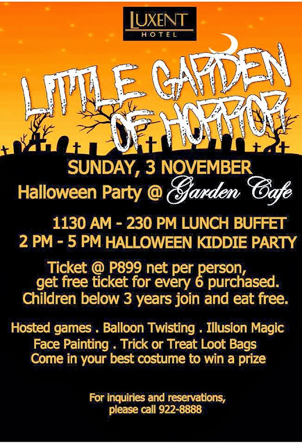 trick or treat events in metro manila 2013