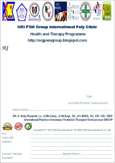 Recipe PT. NRi PSM Group international, Tbk &amp; PT. HEJO