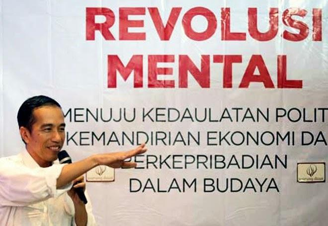 Jokowi Tandatangani Inpres Gerakan Nasional Revolusi Mental