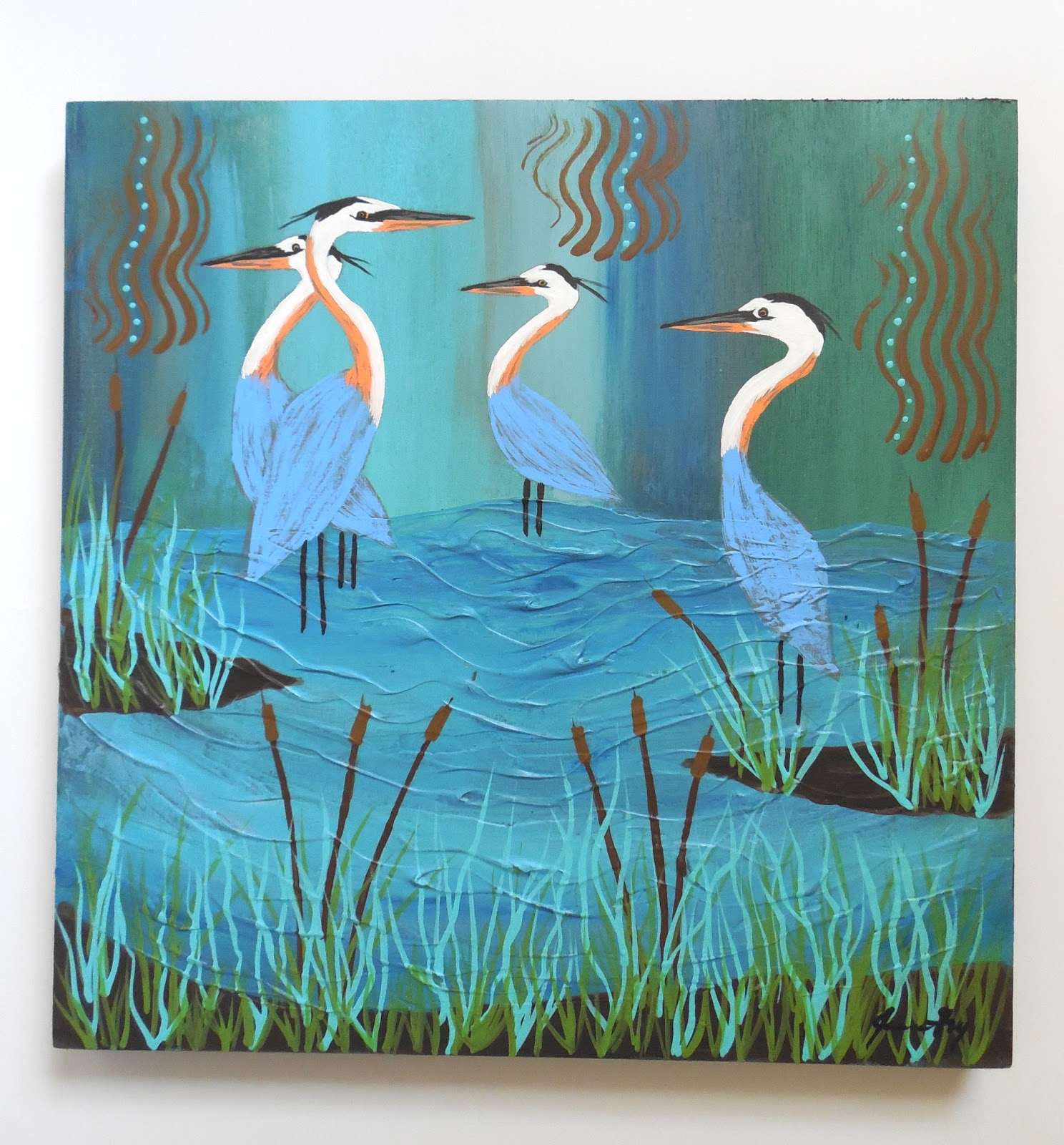 Conscious Art Studios The Symbolism And Philosophy Of The Heron